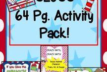 Seuss activities & resources / Seuss inspired activities & resources!