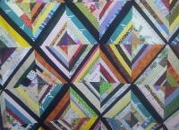 Quilts from Scraps / Quilts and quilt patterns using fabric scraps