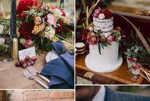 Colour boards / Wedding