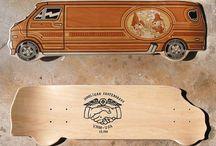 Longboarding, skateboarding