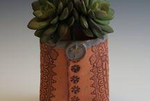 keramika - květináčky