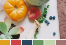 Color Palettes / by Samantha Sebald