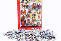 Puzzle Fun! / 1000 pieces of fun! Retrace the RCMP History one piece at a time with this beautiful RCMP EuroGraphics Puzzle. Great gift idea!