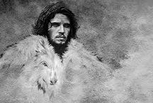 "Jon Snow / Kit Barinton   ""Game of Thrones"""