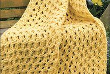 Crochet blankets / by Marjorie Edwards