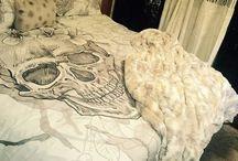 Skull bedding