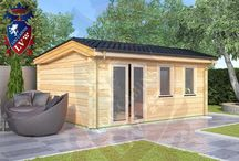 Laminated Log Cabin / Log Cabins LV is one of the largest producers of Laminated Log Cabins in Europe/World. Our Factory is the Largest in the Baltics and can offer amazing quality at very low prices. Please do not hesitate to send us an email.