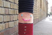 Knittyfitty / Yarn bombing