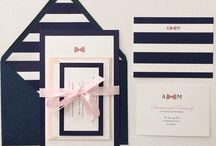 Wedding invitations for Bouloux-Dench day