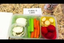 Kid's~ School Lunch Ideas / 5+ Quick, easy, Grab & Go Lunch Ideas + Printable, How to avoid crazy school day mornings, Packing lunches, Printable, Tips, Tutorial, School Lunch Packing Ideas, Snacks, Bring Lunch,