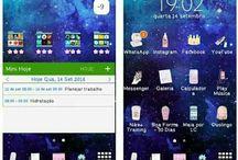 Phone tumblr / #apps #samsung #layout #homescreen #wallpaper #tumblr #phone