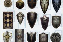 Ideas 3D - Shields / Shields, Escuts, Escudos
