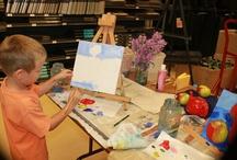 Children Love Art! Classes I teach.