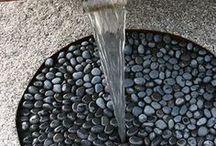water features garden ..