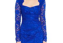 Rochie eleganta, albastru regal