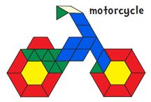 hexagon tangram