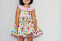 Sewing dress pattern