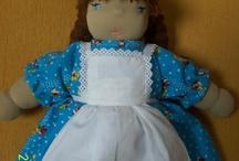 My dolls / Le mie bambole fatte a mano