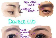 Asiaticos anatomía facial