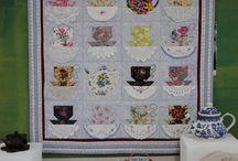 Handkerchiefs / Using handkerchiefs in quilts.