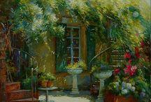 Johan Messely / Peintre Belge