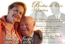 Invitaciones de boda de oro