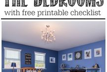 Bedroom / Cleaning and organizing your bedroom
