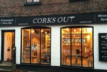 Wine tasting in Knutsford: The Tasting Room at Corks Out
