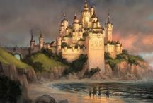 Cair Paravel / Cair Paravel vibes including: Modern!CairParavel Abandoned!CairParavel GoldenAge!CairParavel