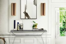 Narrow Console Table / The best console tables for decor inspirations