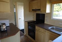 'Culm' holiday caravan / Our top of the range holiday caravan - a great layout with modern furnishings and central heating.