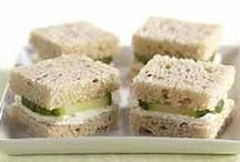 teatime sandwiches recipes