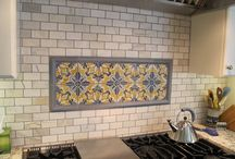 Long Island Houe / Tile ideas for the finishing touches of a DIWY client of mine...