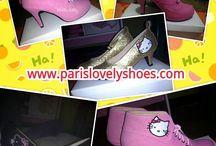 Model sepatu Hello Kitty dari Paris Lovely Shoes