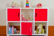 Organisation: Kids & Toy Storage Ideas