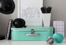turquoise & mint