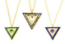 MARCELLA Modern Design / Natural Gemstone Jewelry