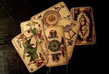 Playing & tarot cards / by wendy whitter