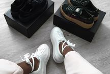 Sneakers And Flat Shoes