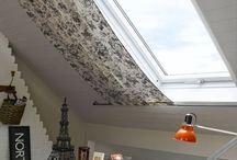 tetőtér ablak függöny