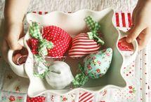 Strawberry Fabric Crafts