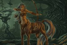 Centaurs / *the original designs are not mine