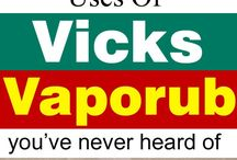 Amazing uses of vicks