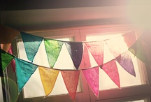 a bunting we will go / by Sweet Louise