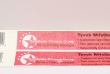 RFID Tyvek Wristbands / RFID Tyvek Wristbands for People Identification and Access Control