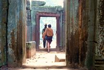 Travel - Cambodia / A board featuring the beautiful South East Asia destination, Cambodia.