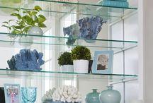 Ideas for shelf displays