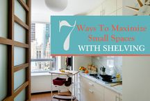 Space-Saving Ideas / Tips and tricks for saving space in the home.