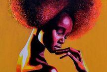 Portrait en peinture