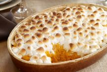 A side of yum! / Side dishes with marshmallows to compliment your delicious dinner entree.  / by JET-PUFFED Marshmallows